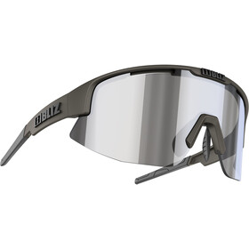 Bliz Matrix M12 Gafas, camo green/smoke/silver mirror
